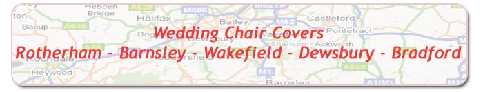 Wedding Chair Sashes & Covers Wakefield