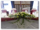 Wedding chair covers and organza sashes in Wakefield