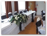 Wedding chair covers and organza sashes in Ossett